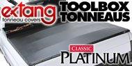Classic Platinum Toolbox <br> Extang Tonneau Covers