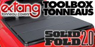 Solid Fold Toolbox <br> Extang Tonneau Covers