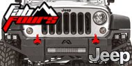 Fab Fours Jeep <br>Vengeance Bumpers