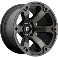 Fuel Wheels <br /> D564 Beast Black Machined W/ Dark Tint