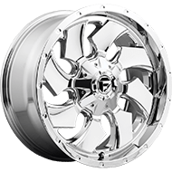 Fuel D573 Cleaver Chrome Wheels
