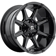 Fuel D575 Coupler Gloss Black Wheels