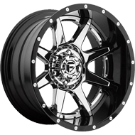 Fuel Wheels<br /> D247 Rampage Chrome