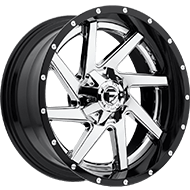 Fuel Wheels <br /> D263 - Renegade Chrome