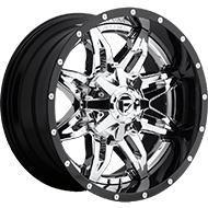 Fuel Wheels <br /> D266 Lethal Chrome