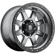 Fuel Wheels D552 Trophy Matte Anthracite w/ Black Ring