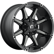 Fuel Wheels D556 Coupler Black and Machined with Dark Tint