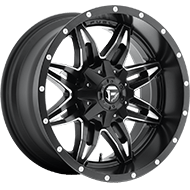 Fuel D567 Lethal Black and Milled Wheels