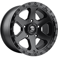 Fuel D589 Ripper Black Matte Wheels