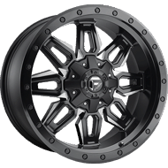 Fuel Wheels D591 Neutron Black and Milled