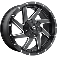 Fuel D594 Renegade Black Milled Matte Wheels