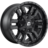 Fuel D596 Sledge Black Matte Wheels
