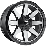 Fuel Wheels <br /> D599 Wildcat Gunmetal Matte
