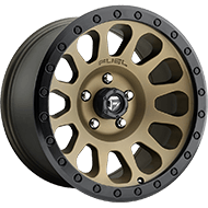 Fuel D600 Vector Bronze Wheels