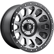 Fuel Wheels D601 Vector Gunmetal Matte