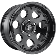 Fuel D608 Enduro Matte Black Wheels