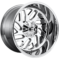 Fuel D609 Triton Chrome Wheels