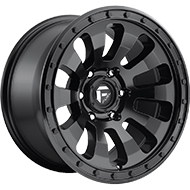 Fuel D630 Tactic Matte Black Wheels