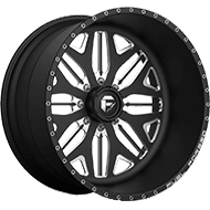 Fuel FF05 Black Milled Wheels