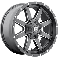Fuel D542 Maverick Anthracite Milled Spoke Wheels
