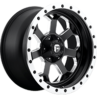 Fuel Wheels D565 Savage Matte Black Milled