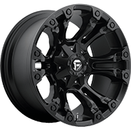 Fuel Wheels <br /> D560 Vapor Matte Black