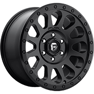 Fuel D579 Vector Matte Black Wheels
