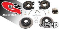 G2 Axle & Gear Disc Brake Conversion Kit