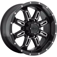 725MB Dominator Wheels <br > Machined Black