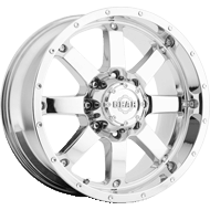 726C Big Block Wheels <br /> Chrome Plated