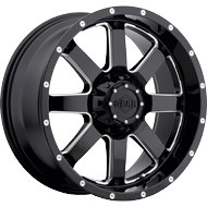 726MB Big Block Wheels<br /> Gloss Black with CNC Milled Accents