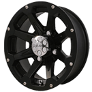 G-FX Wheels <br/>Six Shooter Matte Black