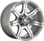Dick Cepek Wheels<br /> Gun Metal 7