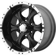 Helo Wheels<br /> HE791 Gloss Black