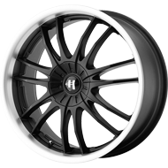 Helo Wheels<br /> HE845 Gloss Black