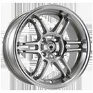 Konig Wheels <br />Lightspeed Silver