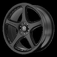 Lorenzo Wheels<br> WL28 Satin Black