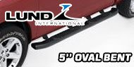 Lund 5 Inch<br /> Oval Bent Nerf Bars
