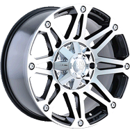 Mayhem Wheels<br /> RIOT 8010 Black/Machined