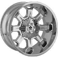 Mayhem Combat 8105 Chrome Wheels