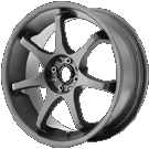 Motegi Racing Wheels<br /> MR125 Titanium Gray