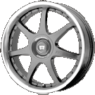 Motegi Racing Wheels<br /> MR237 Gun Metal