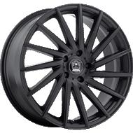 Motiv 417B Montage Satin Black Wheels