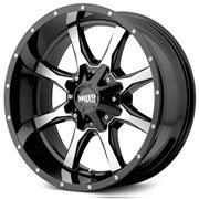 MOTO METAL Wheels <br>MO970 Gloss Black