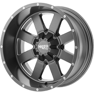 Moto Metal Wheels <br/> MO962 Satin Gray w/ Milled Accents