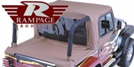 Rampage Jeep Cab Tops <br/> for Wrangler YJ 1987-1995