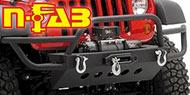 N-Fab <br>Front Winch Bumper