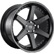 Niche Altair M192 Satin Black/Gloss Black Wheels