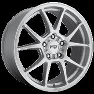 Niche Messina M175 Silver Gloss Wheels