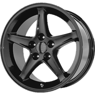 OE Creations PR102 Gloss Black Wheels